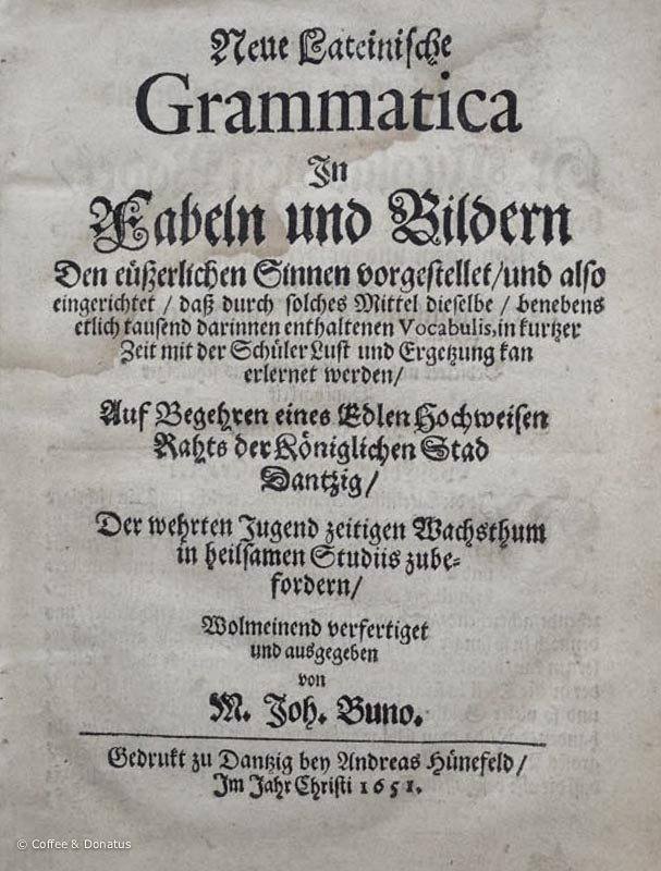 Buno 1651:  Title Page