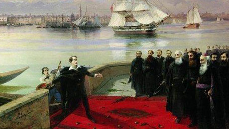Byron's_visit_to_San_Lazzaro_by_Aivazovsky_featured